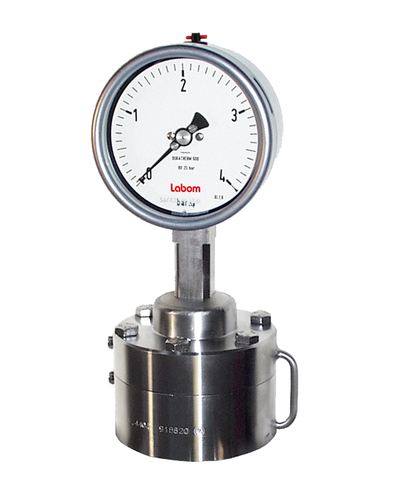 Differential pressure gauge NS 100/ 160, diaphragm seal operation - BD2200