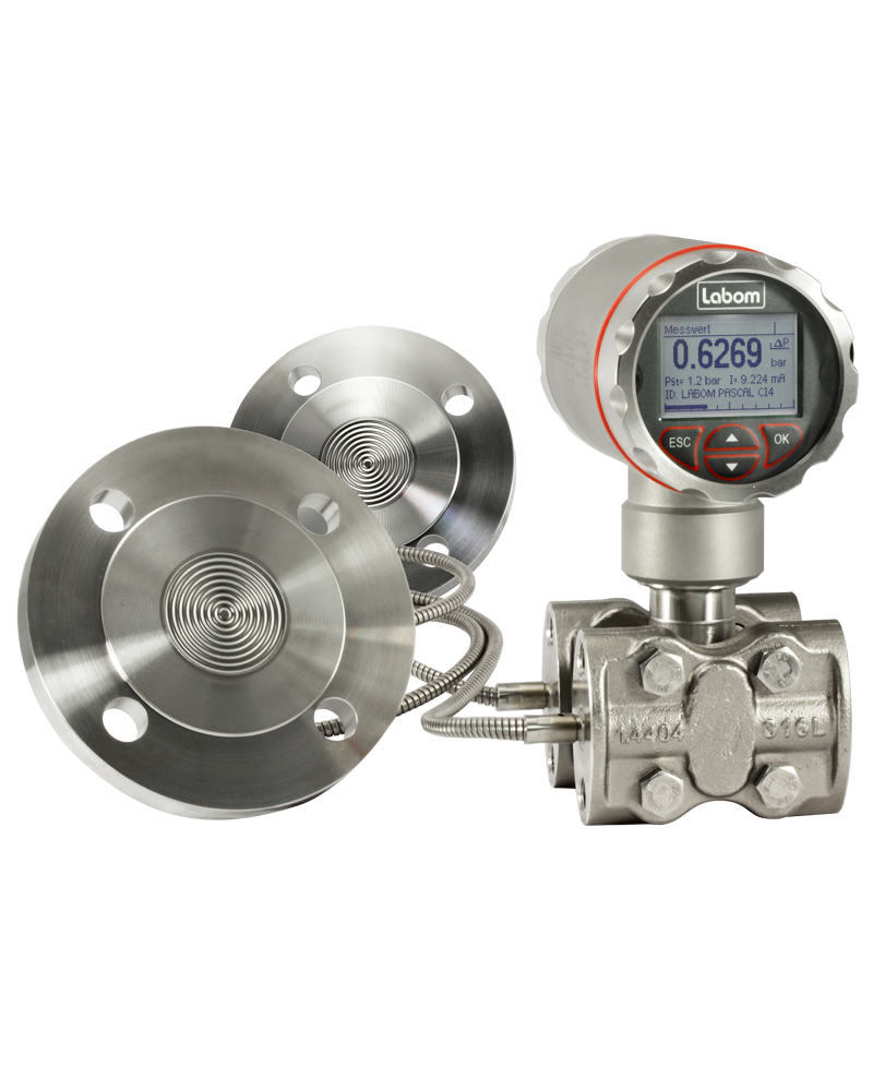 Differential pressure and level transmitter PASCAL Ci4 Delta P, highly overload protected - CI4350