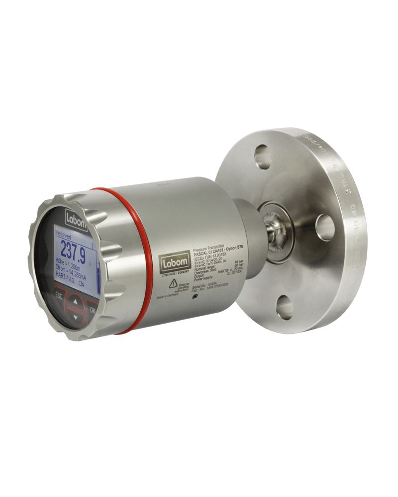 Level transmitter PASCAL Ci4 LEVEL for atmospheric vessels - CI4200
