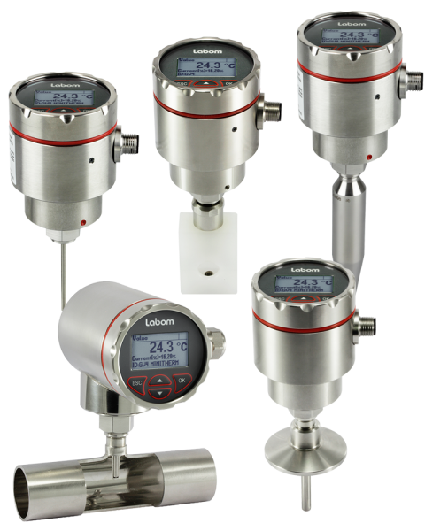Temperature transmitter with intuitive operation in compact design - Temperature transmitter GV4 series