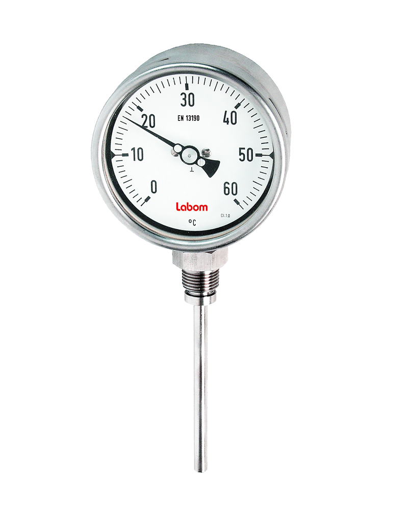 Bimetal thermometer NS 100/160, various process connections - FA2400