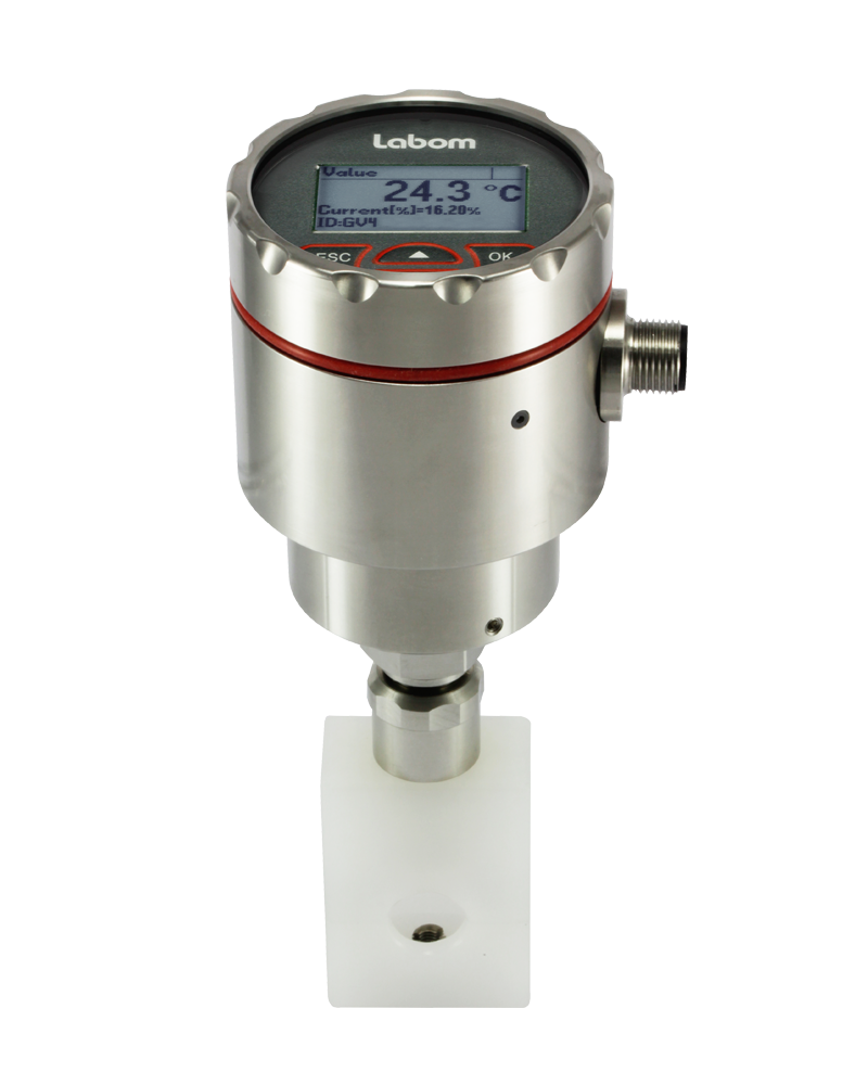 Temperature transmitter GV4 Clamp-on for temperature measurement on pipes - GV4610