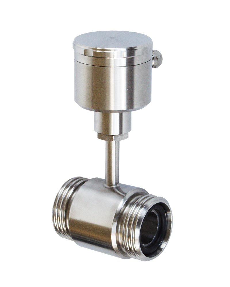 Inline temperature transducer with Pt100 for pipe mounting - GA2200